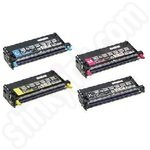 Remanufactured Multipack of Epson High Capacity S051158-61 Toner Cartridges