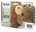 T0615 epson Quad pack of inks Teddy Bear