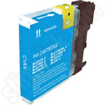 Compatible Brother LC1100 Cyan ink Cartridge
