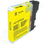 Compatible Brother LC1100 Yellow ink Cartridge