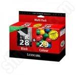 Multi-pack of Lexmark 28 & 29 ink cartridges (Return Program)