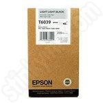 High Capacity Epson T6039 Light Light Black Ink Cartridge