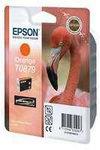 Epson T0879 Orange ink Cartridge Flamingo