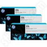 Triple Pack of HP 771C Photo Black Ink Cartridges