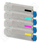 Multipack of Oki 44844616-3 Toner Cartridges
