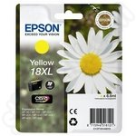 High Capacity Epson 18 XL Yellow Ink Cartridge