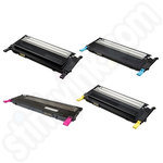 Remanufactured Multipack of High Capacity Samsung CLT-508 Toner Cartridges