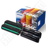 Multipack of Samsung CLT-504S Toner Cartridges