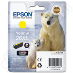 High Capacity Epson 26 XL Yellow Ink Cartridge