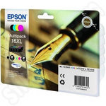 High Capacity Multipack of Epson 16XL Ink Cartridges