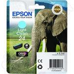 Epson 24 Light Cyan Ink Cartridge