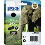 High Capacity Epson 24XL Black Ink Cartridge