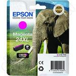 High Capacity Epson 24XL Magenta Ink Cartridge
