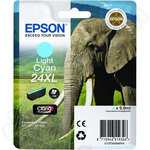 High Capacity Epson 24XL Light Cyan Ink Cartridge