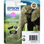 High Capacity Epson 24XL Light Magenta Ink Cartridge