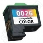 Refilled Lexmark 26 Colour ink Cartridge