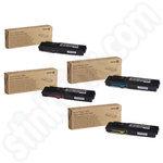 High Capacity Multipack of Xerox 106R02229-32 Toner Cartridges