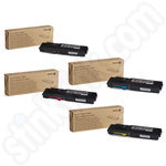 High Capacity Multipack of Xerox 106R02229-32 Toner Cartridges