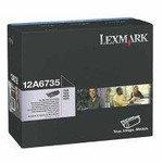 Original Lexmark 12A6735 High Capacity Black Toner Cartridge