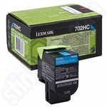 High Capacity Lexmark 702HC Cyan Toner Cartridge
