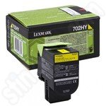 High Capacity Lexmark 702HY Yellow Toner Cartridge