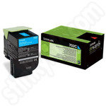 Lexmark 702C Cyan Toner Cartridge
