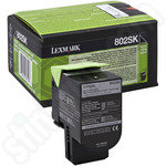 Lexmark 802SK Black Toner Cartridge