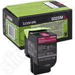 Lexmark 802SM Magenta Toner Cartridge