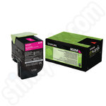 Low Use Lexmark 802M Magenta Toner Cartridge