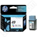 HP 49 Tri-Colour Ink Cartridge