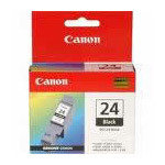 DISCONTINUED: Original Canon BCi-24BK Black Ink cartridge