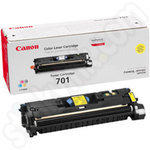 High Capacity Canon 701 Yellow Toner Cartridge