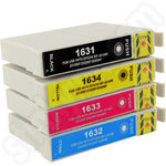Compatible Multipack of High Capacity Epson 16XL Ink