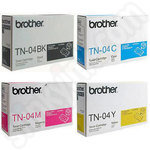 Multipack of Brother TN04 Toner Cartridges