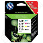 Multipack of HP 932 and 933 XL Ink Cartridges