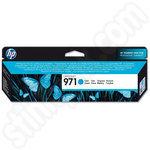 HP 971 Cyan Ink Cartridge