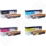 Multipack of High Capacity Brother TN-241 and TN-245 Toner Cartridges
