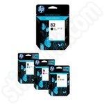 Multipack of HP 82 & HP 11 Ink Cartridges