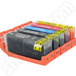 Compatible Multipack of Canon PGi-550 and CLi-551 XL Ink Cartridges