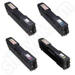 Multipack of High Capacity Ricoh Aficio 406 Toner Cartridges