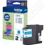 Brother LC221 Cyan Ink Cartridge