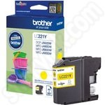 Brother LC221 Yellow Ink Cartridge