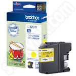 Brother LC22UY Yellow Ink Cartridge