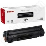 Canon 737 Black Toner Cartridge