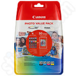 Canon CLI-526 Ink Value Pack + Photo Paper