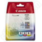 Canon CLi-8 Three-Colour Multipack