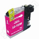 Compatible Brother LC123 Magenta Ink Cartridge