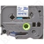 Compatible Brother TZe-233 Blue on White Label Cassette