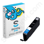Compatible High Capacity Canon CLi-551 XL Cyan Ink Cartridge