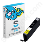 Compatible High Capacity Canon CLi-551 XL Yellow Ink Cartridge
